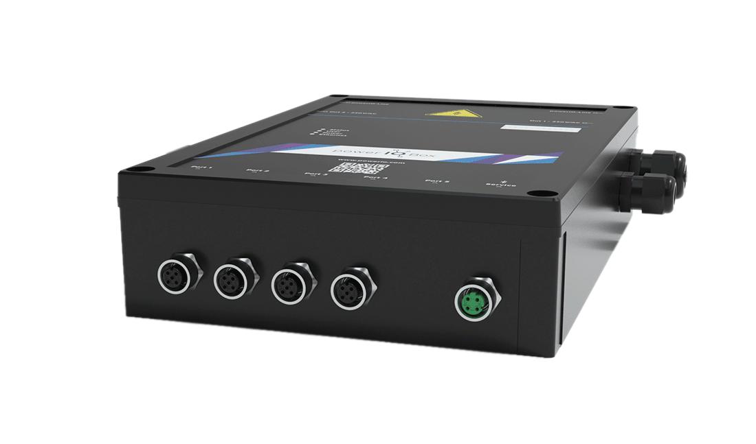 powerIO Box zur dezentralen Gebäudeautomation 4.0
